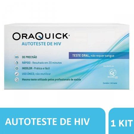 Autoteste de HIV Oraquick