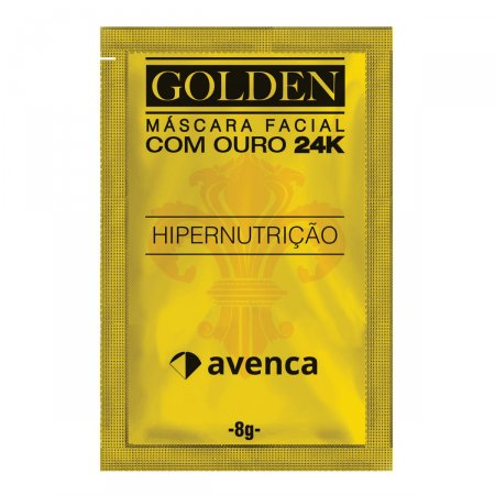 Máscara Facial Avenca Golden 24K
