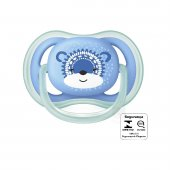 AVENT CHUPETA ULTRA AIR AZUL DECORADA 6 A 18 MESES