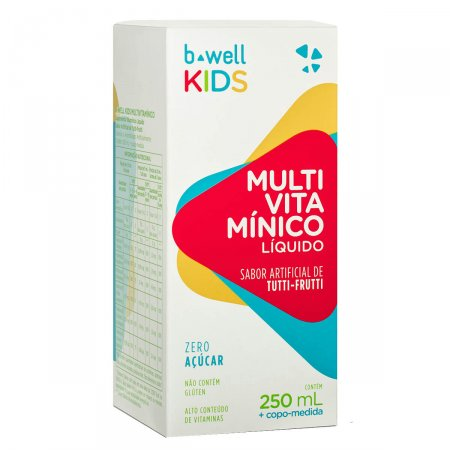 Multivitamínico B-well Kids