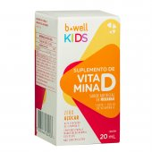 B-WELL VITAMINA D KIDS 200UI COM 20ML