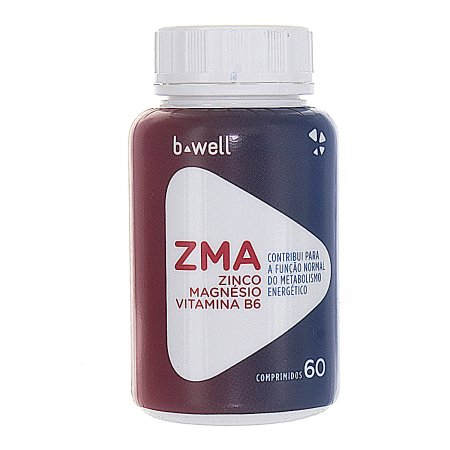 B-WELL ZMA 60 COMPRIMIDOS