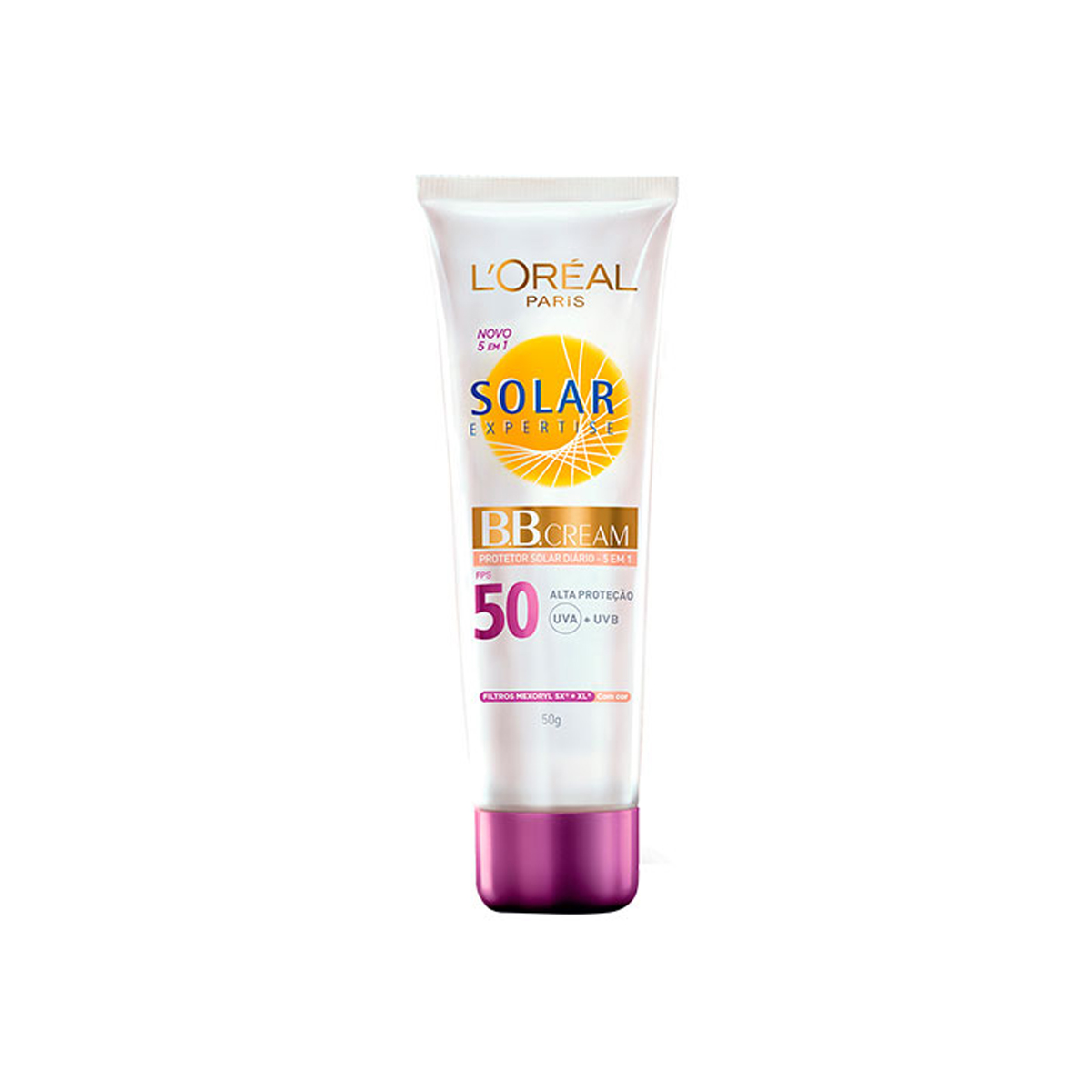 B.B Cream com Protetor Solar L'oreal Expertise FPS50 L'Oréal 50ml
