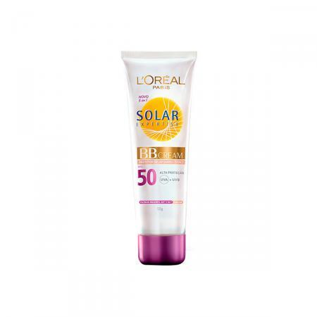B.B Cream com Protetor Solar L'oreal Expertise FPS50