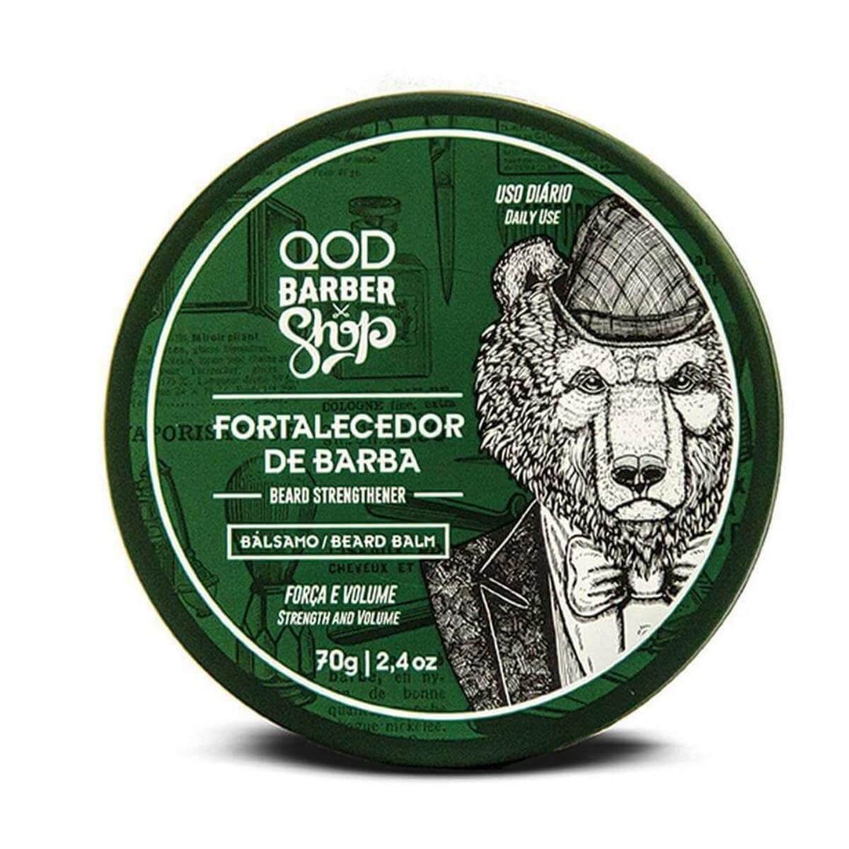 Bálsamo Fortalecedor de Barba QOD Barber Shop 70g