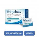 BABYDRAX PO COM 4 ENVELOPES 27.9G CADA