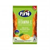 Bala Fini Vitamina C Sabor Laranja