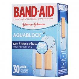 Band-Aid Curativos À Prova D'água com 30 unidades