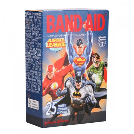 Curativos Band-Aid Liga da Justiça