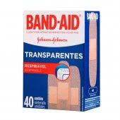 BAND AID TRANSPARENTE LEVE 40 PAGUE 30