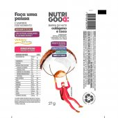 NUTRIGOOD BARRA DE CASTANHA NUTS COLEAGENO COCO 27G