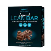 Barra de Proteína GNC Layered Lean Bar Sabor Chocolate Mousse