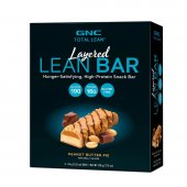 Barra de Proteína GNC Layered Lean Bar Sabor Creme de Amendoim