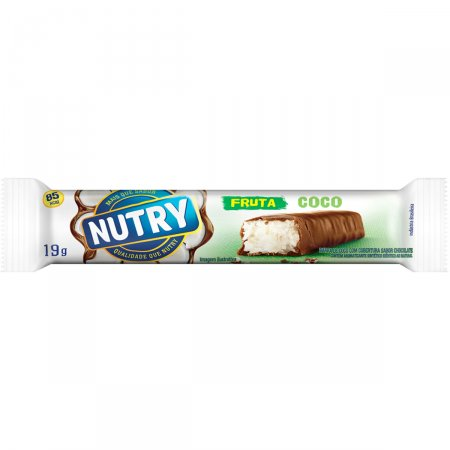 NUTRY BARRA DE FRUTAS COCO COM CHOCOLATE 19G