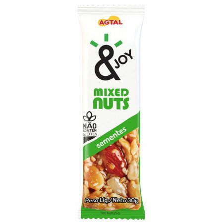 AGTAL MIXED NUTS SEMENTE 30G