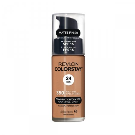 Base Líquida Revlon Colorstay FPS15 Rich Tan 350