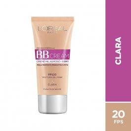 BB Cream L'oréal Pele Clara Oil-Free FPS 20 com 30ml