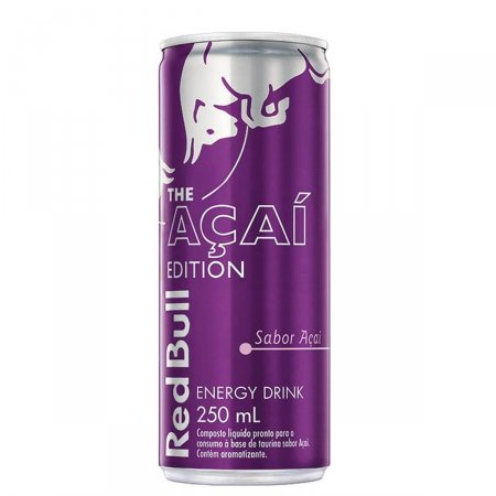 Bebida Energética Red Bull The Açaí Edition