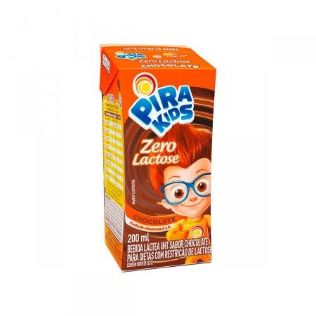 Bebida Láctea Pirakids Zero Lactose Sabor Chocolate