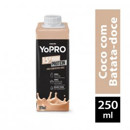 Bebida Láctea YoPRO Coco com Batata Doce com 250ml