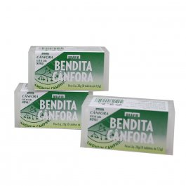Bendita Cânfora com 8 tabletes