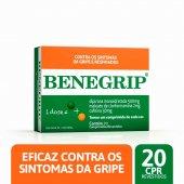 Benegrip 500mg + 2mg + 30mg com 20 comprimidos