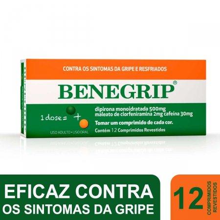 BENEGRIP ANTI GRIPAL 12 COMPRIMIDOS