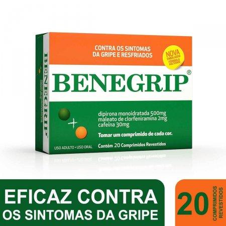 BENEGRIP ANTI GRIPAL 20 COMPRIMIDOS