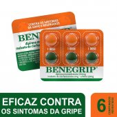 Benegrip com 6 Comprimidos