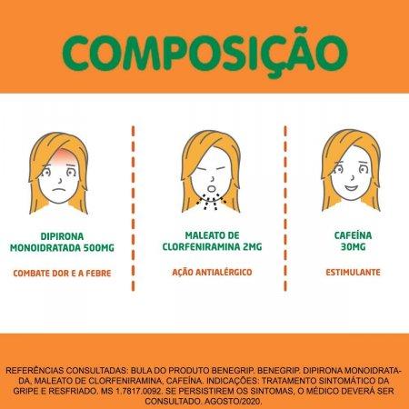 Benegrip com 20 Comprimidos Foto 4