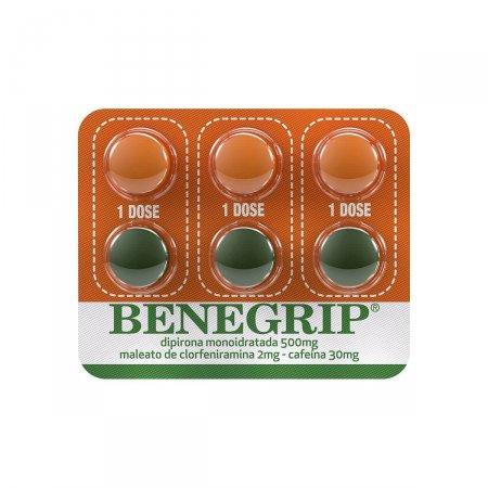 Benegrip com 6 Comprimidos Foto 3
