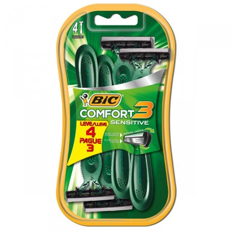 Barbeador Bic Comfort 3 Sensitive