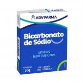 BICARBONATO DE SODIO ADV 50G