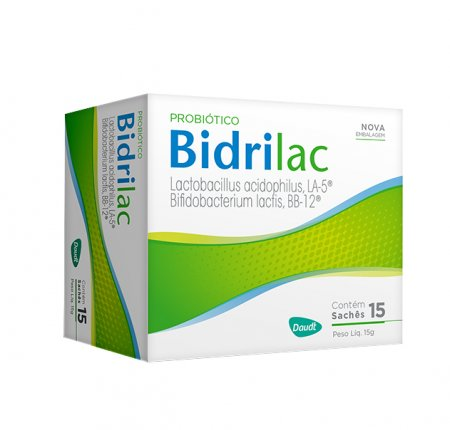 BIDRILAC ANTIDIARREICO COM 15 UNIDADES