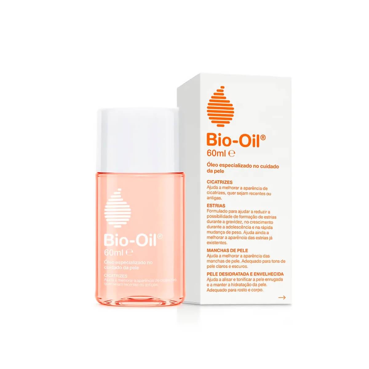 Óleo Corporal Bio-Oil Antiestrias e Cicatrizante com 60ml 60ml