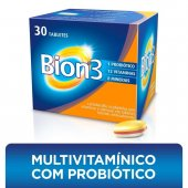 BION 3 COMPLEXO VITAMINICO FRASCO COM 30 TABLETES