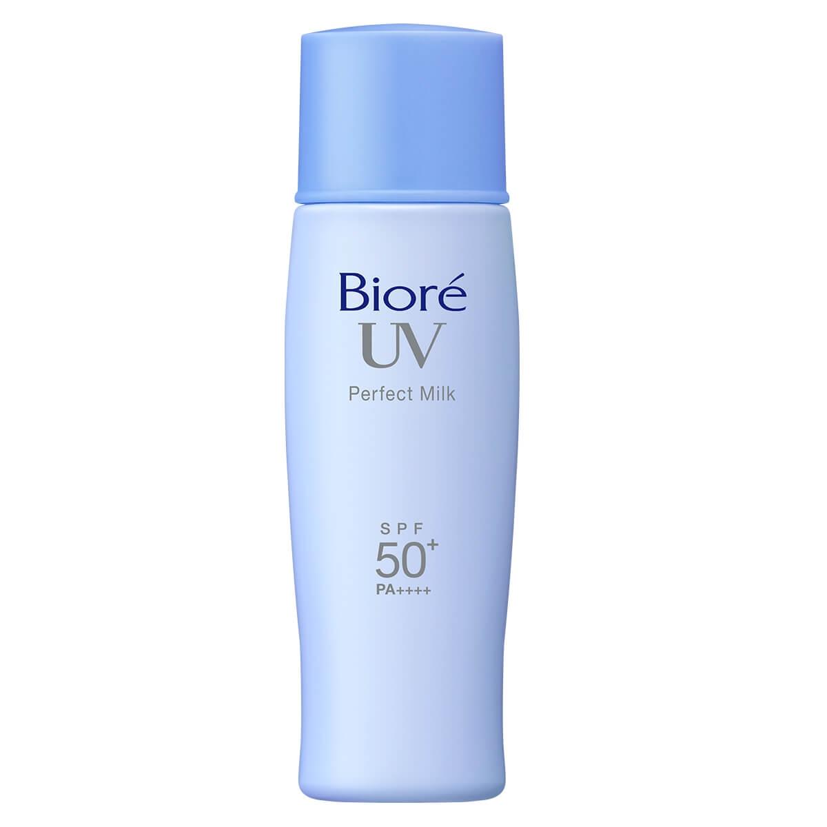 Protetor Solar Facial Bioré Perfect Milk FPS 50 com 40ml 40ml