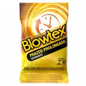 Preservativo Blowtex Prazer Prolongado Efeito Retardante