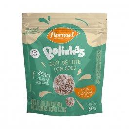 FLORMEL BOLINHA DOCE DE LEITE COM COCO ZERO LACTOSE 60G