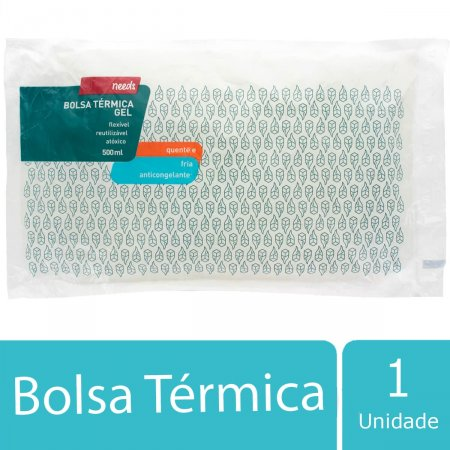 Bolsa Térmica Gel Needs Anticongelamento Média 1 Unidade   Drogasil.com Foto 2
