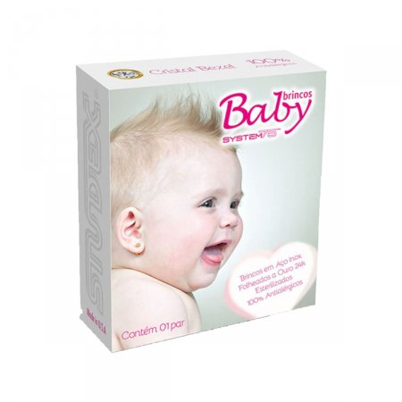 Brinco Studex Baby Cristal