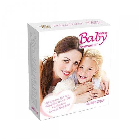 Brinco Studex Baby Daisy Cristal