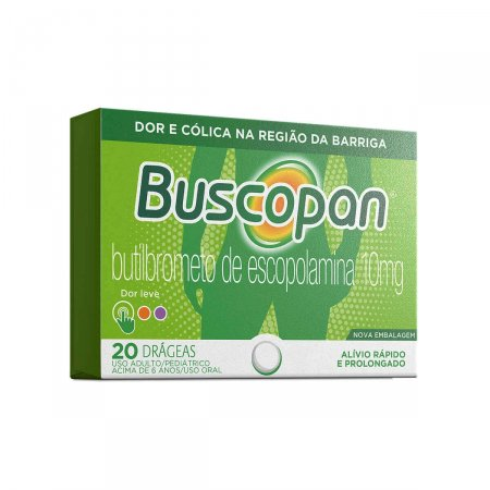 BUSCOPAN 10 MG 20 DRAGEAS