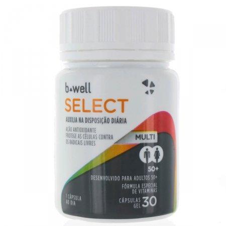 B-WELL MULTI SELECT COM 30 CAPSULAS GELATINOSAS