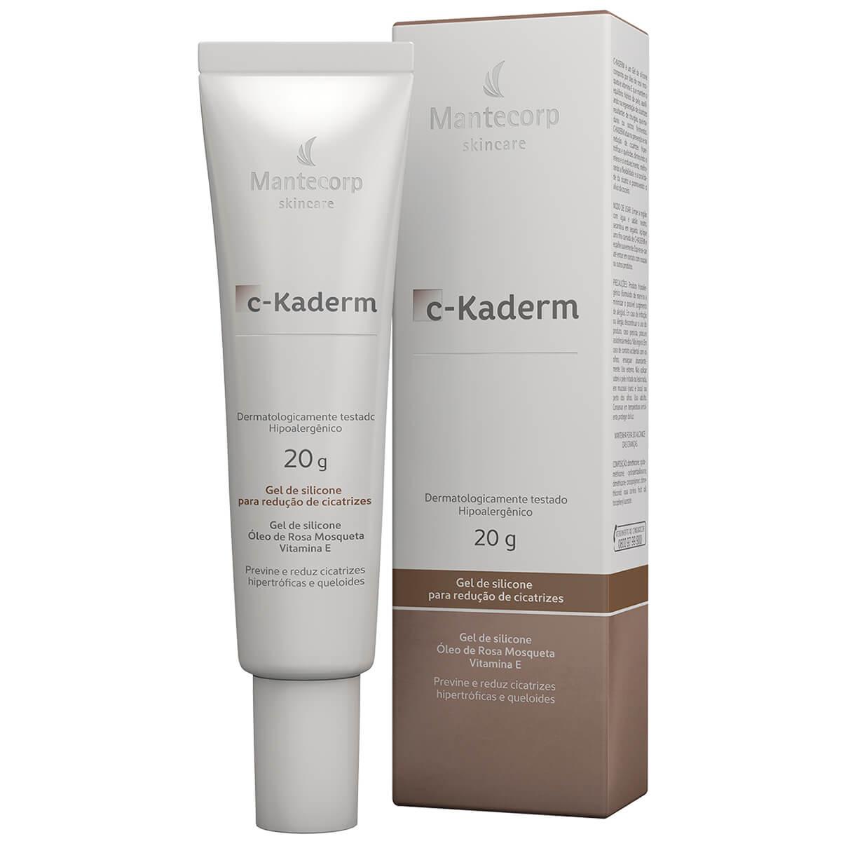 Gel de Silicone para Redução de Cicatrizes Mantecorp C-Kaderm com 20g 20g Gel