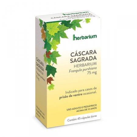 HERBARIUM CASCARA SAGRADA 75 MG 45 CAPSULAS