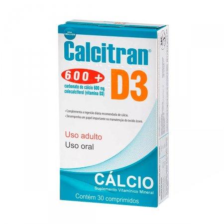 CALCITRAN D3 CALCIO + ASSOCIACOES 30'S