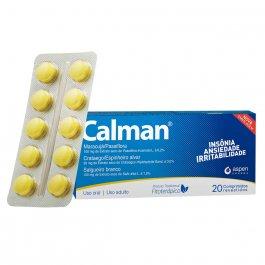 Calman com 20 comprimidos