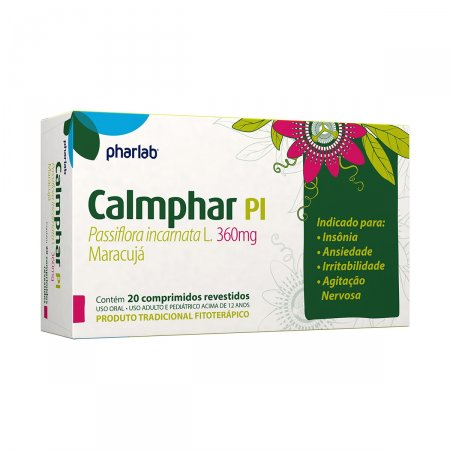 CALMPHAR PL 360MG 20 COMPRIMIDOS REVESTIDOS