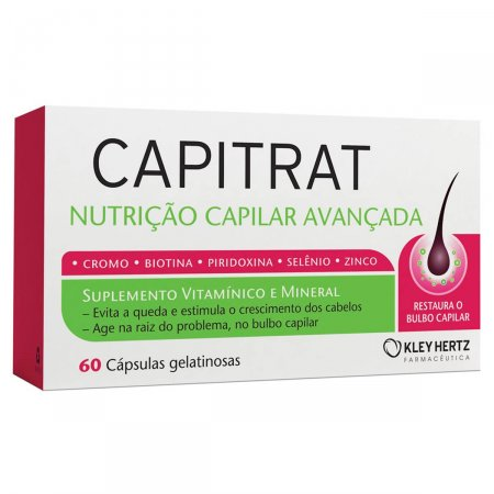 Suplemento Vitamínico e Mineral Capitrat